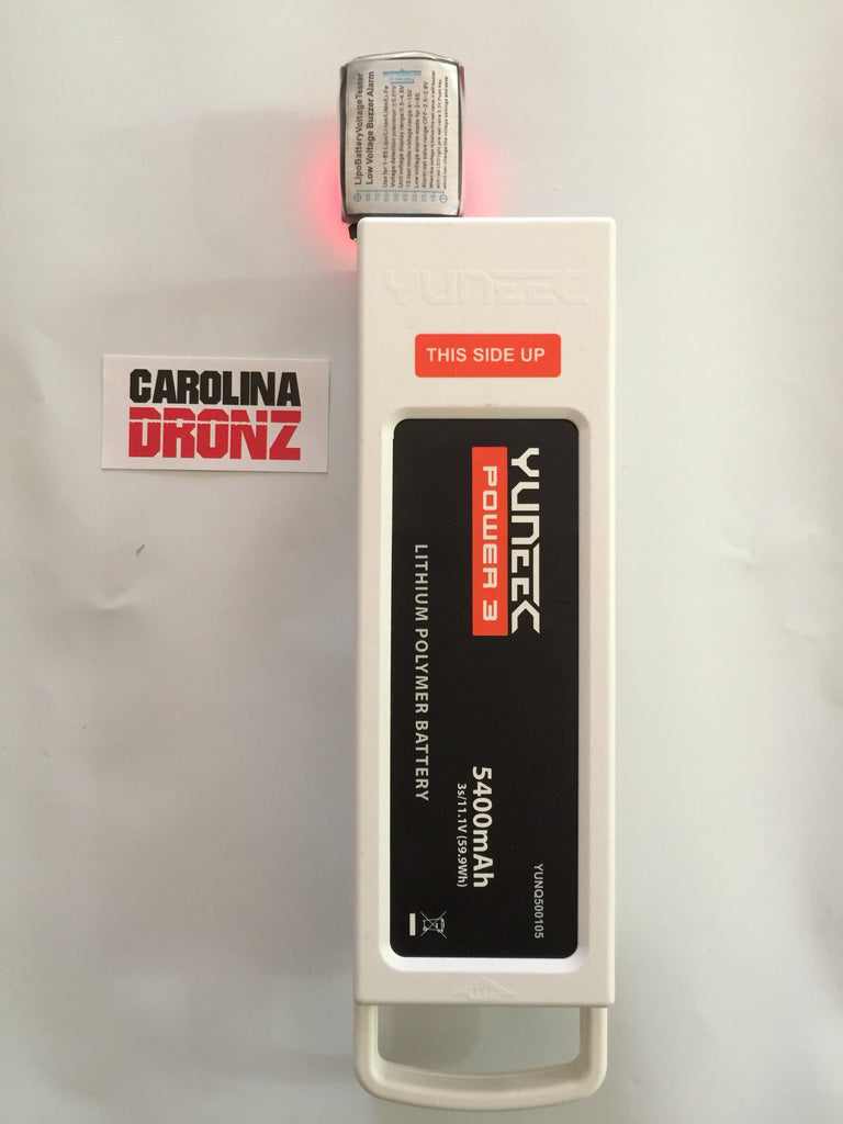 Battery Tester for YUNEEC Q500/Q500+/Q500-4K - Carolina Dronz - 2