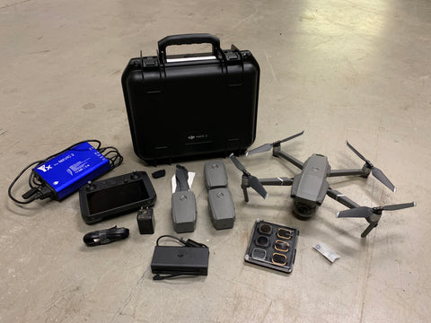 Pre-Owned Mavic 2 Pro With 4 Batteries And Protector Case