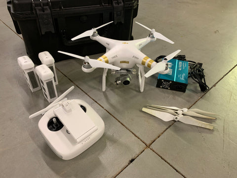 Pre-Owned DJI Phantom 3 Professional with Hard Case