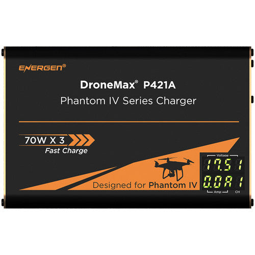 ENERGEN DroneMax P421A AC Drone Battery Charger for DJI Phantom 4 Series