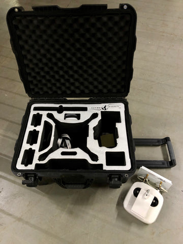 Pre-Owned Nanuk 950 Phantom 4 Hard Rolling Case And Remote Controller