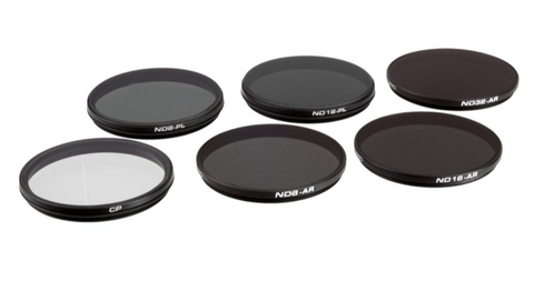 PolarPro DJI Zenmuse X7 X5S X5 X5R 6 Piece Filter Set