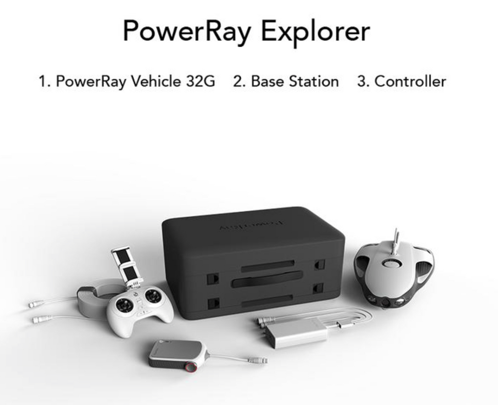 PowerVision PowerRay Explorer Underwater ROV Kit