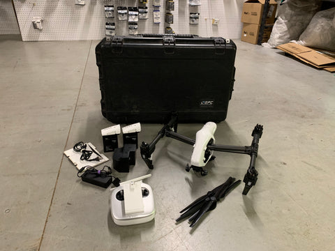Pre-Owned DJI Inspire 1 v1 with X5 Mount & X3 Camera