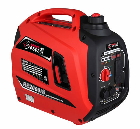 RED-E POWER RE2000iS Whisper Quiet 2000-Watt Portable Inverter Generator
