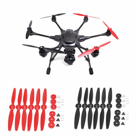 Yuneec Typhoon H RED Propellers - Carolina Dronz - 2