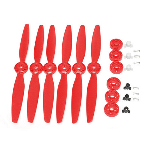 Yuneec Typhoon H RED Propellers - Carolina Dronz - 1