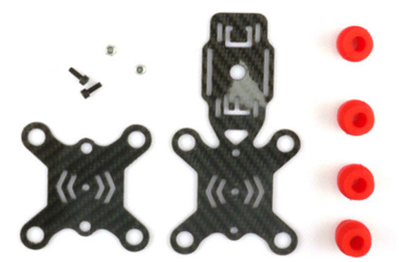 Carbon Fiber Damping Plate + Graphics Transmission Mounting Bracket - Carolina Dronz - 1