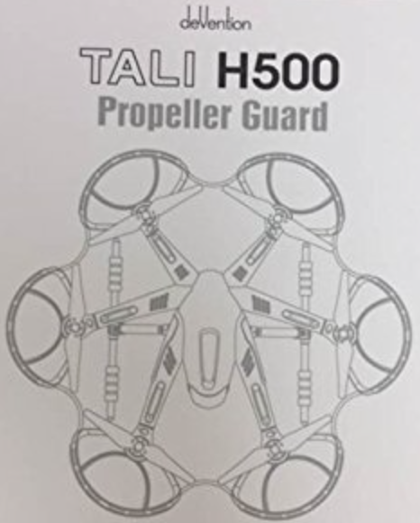 Walkera White Propeller Guard for TALI H500 Hexacopter - Carolina Dronz - 2