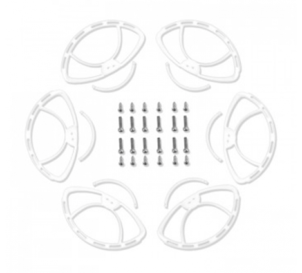 Walkera White Propeller Guard for TALI H500 Hexacopter - Carolina Dronz - 1