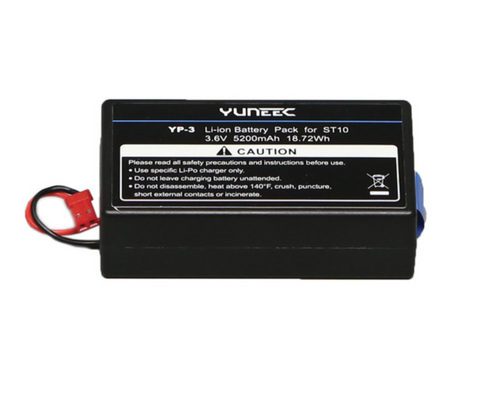 YUNEEC 5200mAh 1S LiPo Battery for ST10 Personal Ground Station - Carolina Dronz