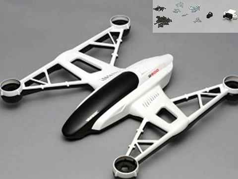 YUNEEC AIRFRAME BODY SET FOR Q500 - Carolina Dronz
