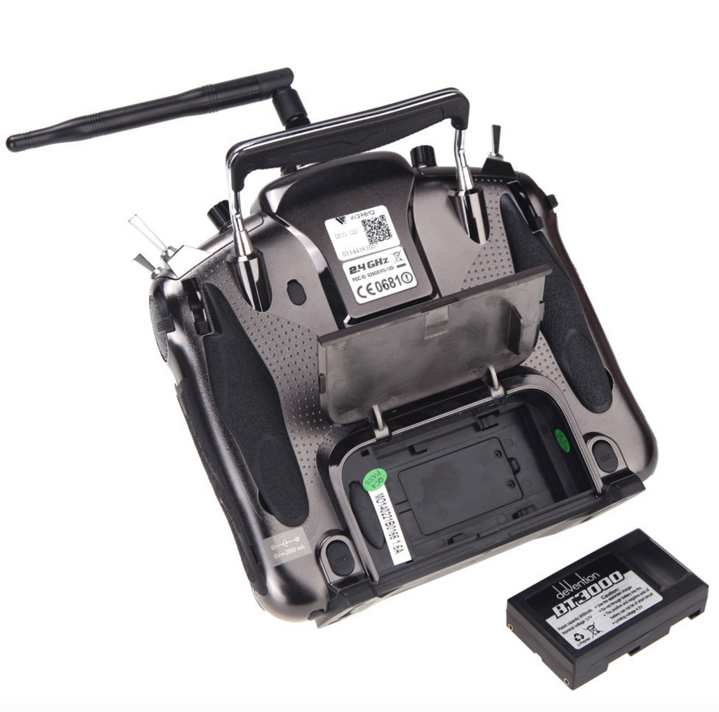 Walkera DEVO 12S Touch Screen LCD Transmitter w/RX1202 & Aluminum Case - Carolina Dronz - 4