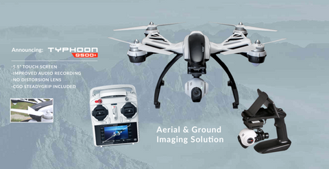 Yuneec Q500+ Typhoon with Improved Lens, 1 Battery - Carolina Dronz - 1