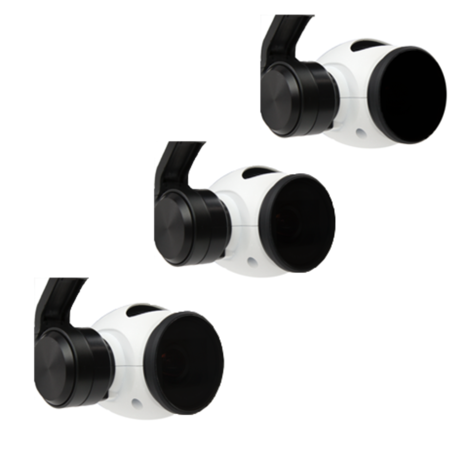 PolarPro DJI Inspire Filter 3-Pack - Carolina Dronz - 1