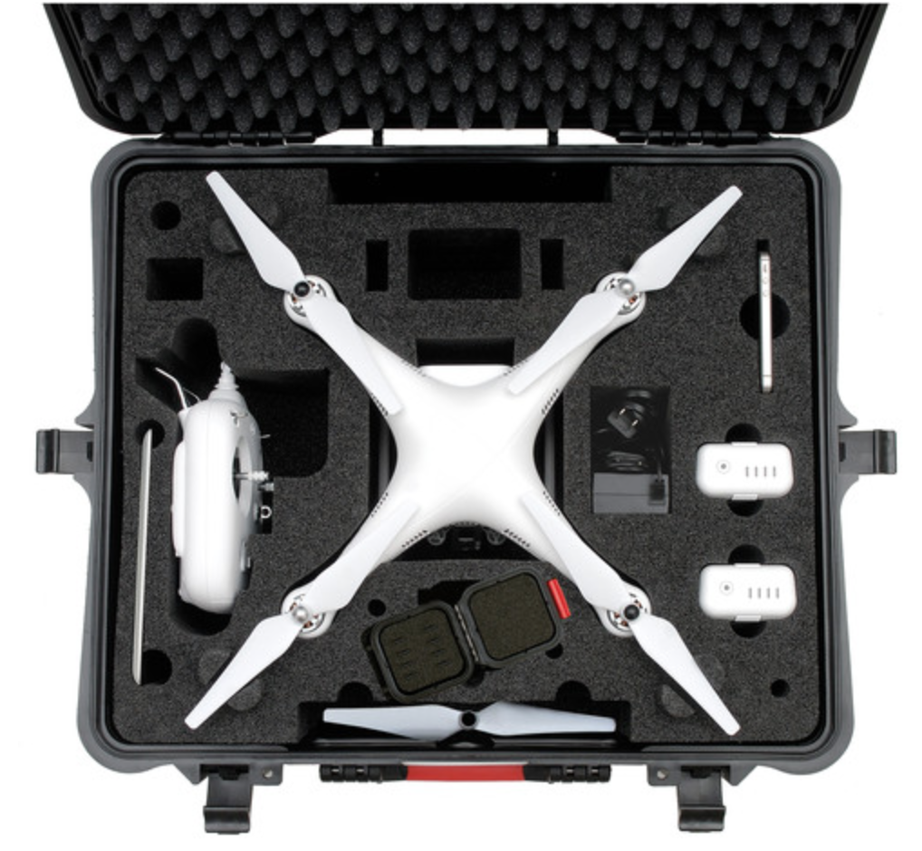 HPRC 2700PHA2 Hard Case for DJI Phantom 2 Vision / Phantom 2 Vision+ - Carolina Dronz - 3