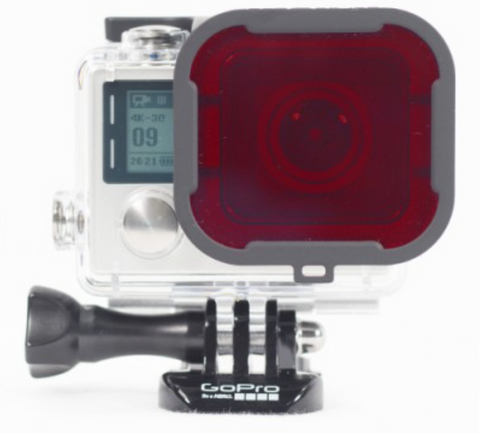 POLARPRO GoPro Red Filter for Hero4 - Carolina Dronz - 1