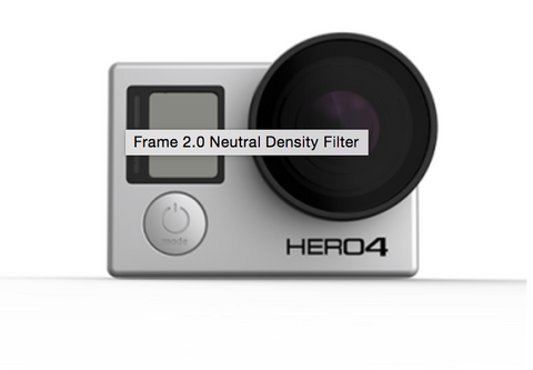 POLARPRO Frame 2.0 Neutral Density Filter for GoPRO 3/4 - Carolina Dronz