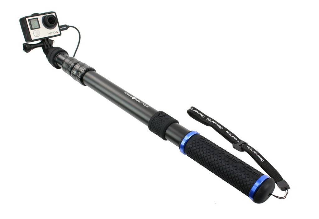 PowerPole // Battery Integrated GoPro Pole - Carolina Dronz - 1