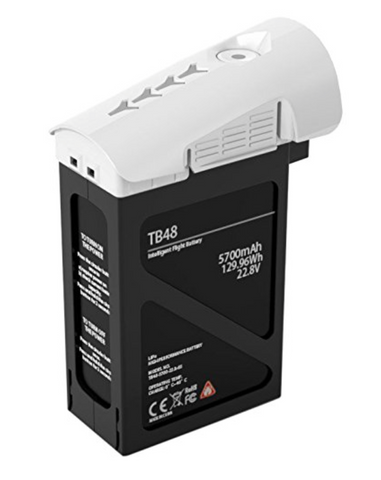 DJI TB48 5700mAh Inspire 1 Battery (White) - Carolina Dronz
