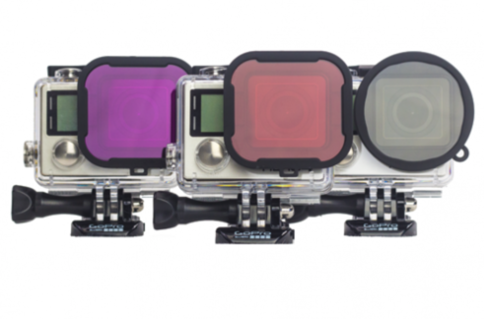 PolarPRO GoPRO 3/4 Filter 3-Pack // Underwater - Carolina Dronz - 2