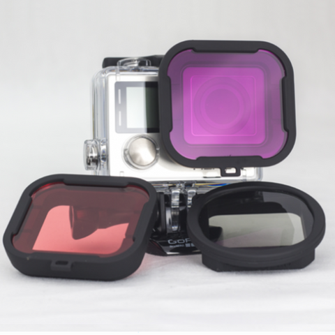 PolarPRO GoPRO 3/4 Filter 3-Pack // Underwater - Carolina Dronz - 1