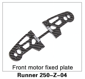 Walkera Runner 250 Front Motor Fixed Plate - Carolina Dronz - 1