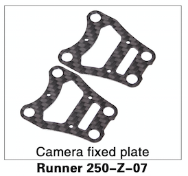Walkera Runner 250 Camera Fixed Plate - Carolina Dronz - 1