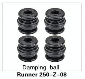 Walkera Runner 250 Damping Ball set of 4 - Carolina Dronz - 1