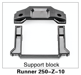 Walkera Runner 250 Support Block - Carolina Dronz - 1