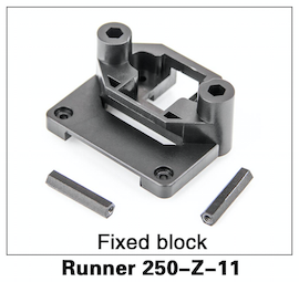 Walkera Runner 250 Fixed Block - Carolina Dronz - 1