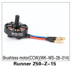 Walkera Runner 250 Brushless Motor (CCW) WK-WS-28-015 - Carolina Dronz - 1