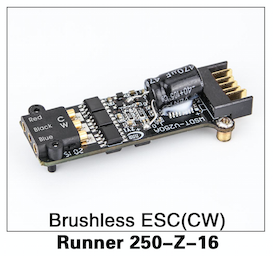 Walkera Runner 250 Brushless ESC (CW) - Carolina Dronz - 1