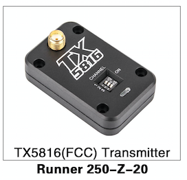 Walkera Runner 250 TX5816 (FCC) Transmitter - Carolina Dronz - 1