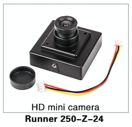 Walkera Runner 250 HD Mini Camera - Carolina Dronz - 1