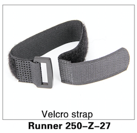 Walkera Runner 250 Velcro Strap Replacement - Carolina Dronz - 1