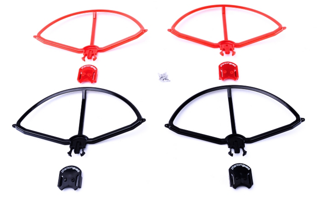 PhantomGuard - Snap-on prop guard for DJI Phantom 1/2 and Phantom 3 Set of 4. - Carolina Dronz - 5