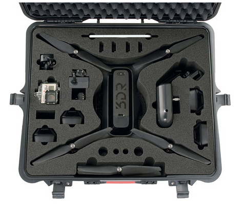 HPRC Wheeled Hard Case for 3DR Solo Quadcopter - Carolina Dronz - 1