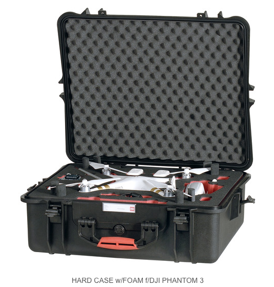HPRC HARD CASE FOR DJI PHANTOM 3 - Carolina Dronz - 1