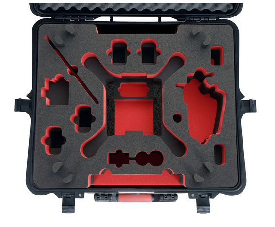 HPRC HARD CASE FOR DJI PHANTOM 3 - Carolina Dronz - 3