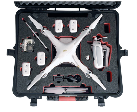 HPRC HARD CASE FOR DJI PHANTOM 3 - Carolina Dronz - 2