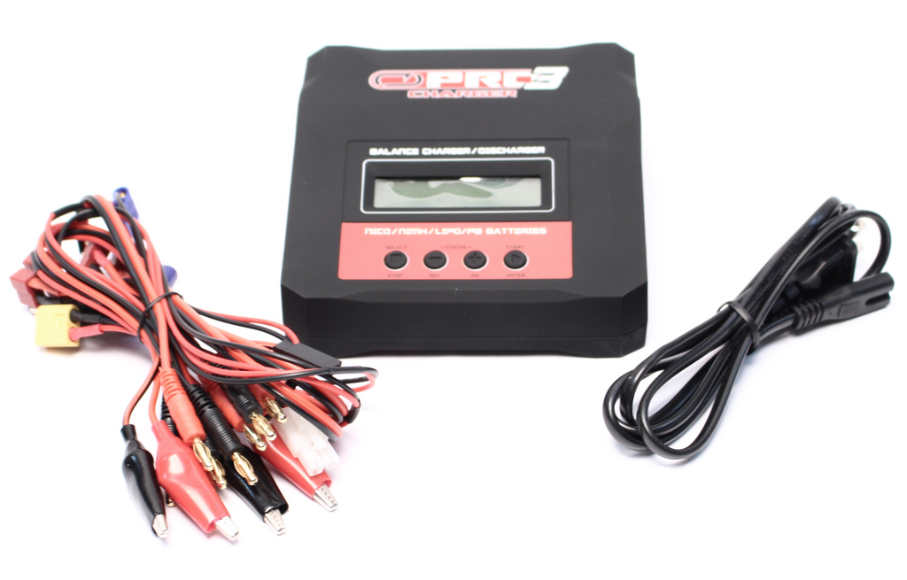 Venom Pro3 AC/DC Powered LiPo/NiMH Battery Charger - Carolina Dronz - 6