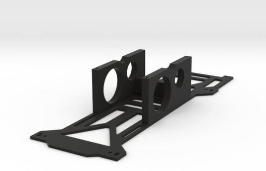 Walkera Runner 250 Frame Bracket and Battery Tray - Carolina Dronz