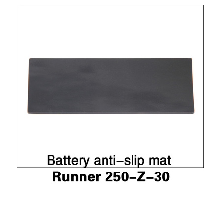 Walker Runner 250 BATTERY ANTI-SLIP MAT - Carolina Dronz