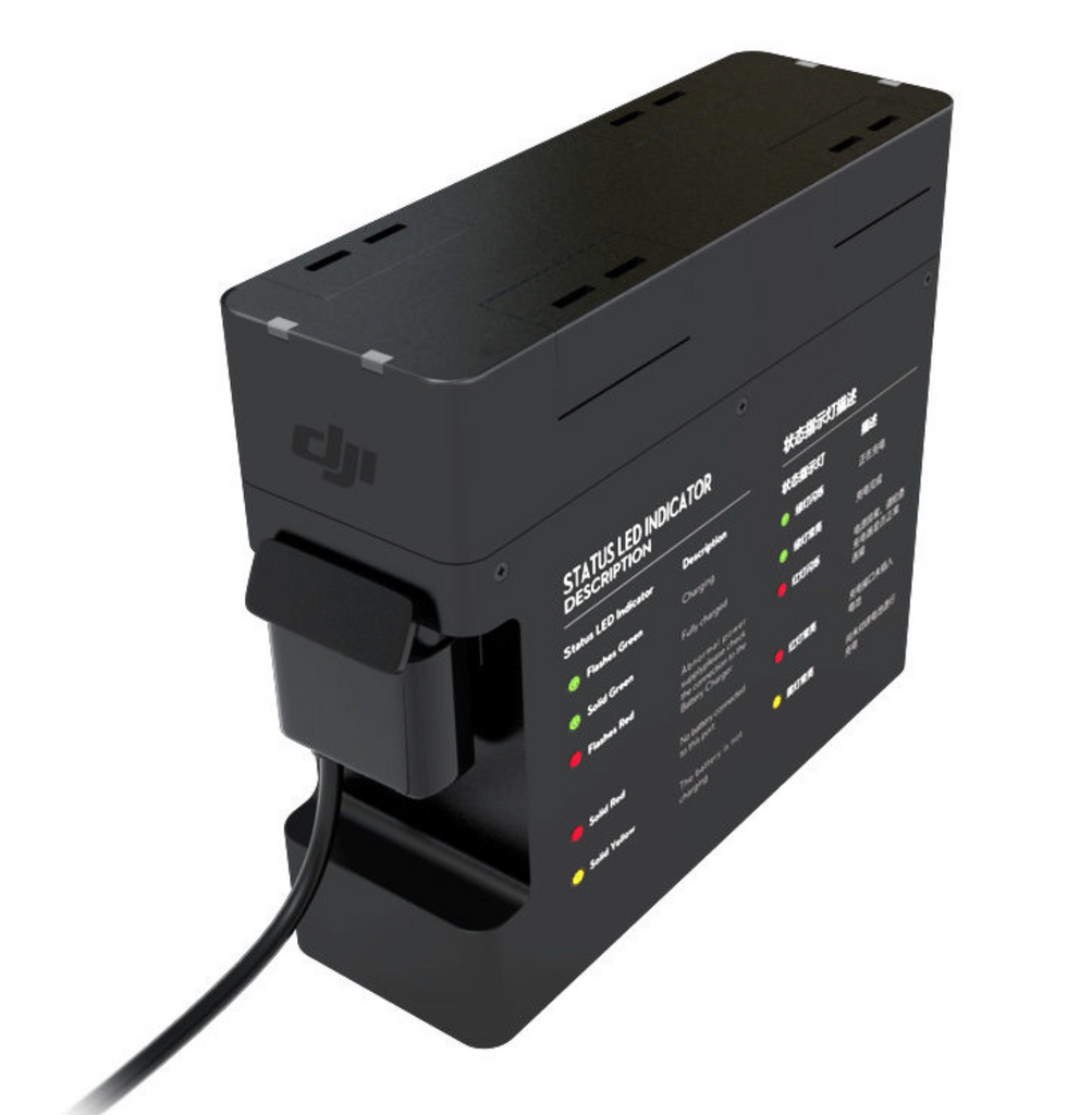 DJI Inspire 1 Battery Charging Hub - Carolina Dronz - 2