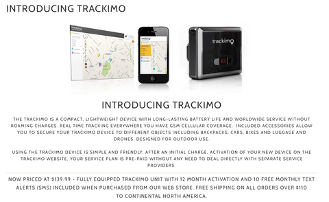 TRACKIMO Device for your Drone - Carolina Dronz - 1