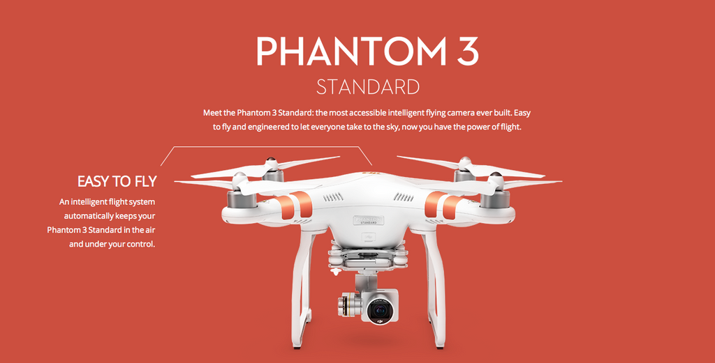 DJI Phantom 3 Standard with 2.7K Video - Carolina Dronz - 2