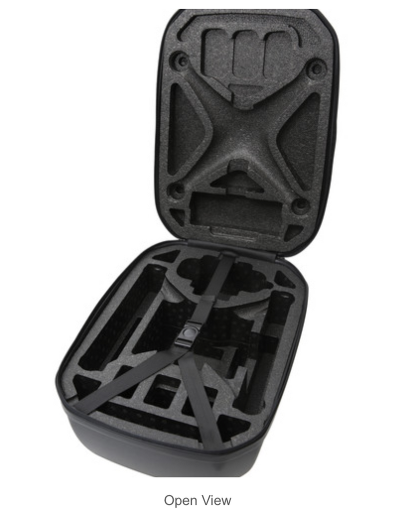 DJI Hardshell Backpack for Phantom 3 (Black, DJI Logo) - Carolina Dronz - 3