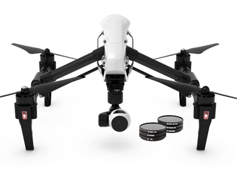 DJI Inspire 1 Professional Filter 6-Pack - Carolina Dronz - 1
