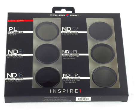 DJI Inspire 1 Professional Filter 6-Pack - Carolina Dronz - 3